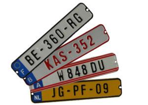 BERG Kennzeichen-Set