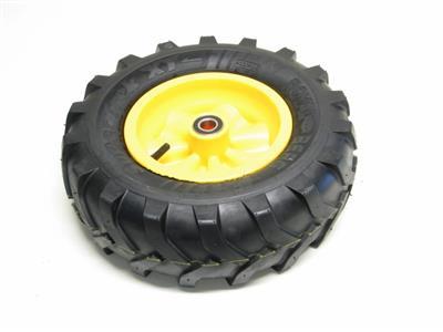Berg Komplettrad Traxx gelb 400-8